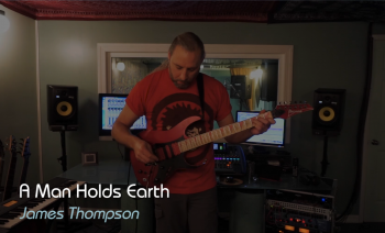 """A Man Holds Earth"", James Thompson (Guitar Fusion, Music Video)"